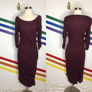 NEW Ranna Gill maroon dress